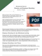 Mittelstands-Seminar über Employer Brands und Employer Branding in Hessen
