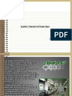 espectrofometro