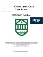 Tuck Case Book 2009