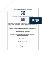 PROYECTO DE FACTIBILIDAD FINANCIERA PARA LA CREACIÓN