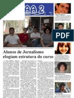 Alunos de Jornalismo elogiam estrutura do curso