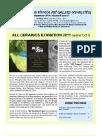 Doongalik Studios September Art Newsletter