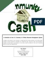 community cash 103 economic management system