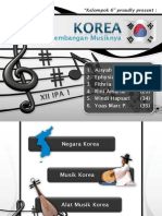 Kesenian Korea