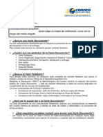 Acerca de Carta Documento