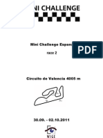 Mini Challenge Espana$Race 2$All