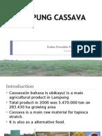 lampung cassava