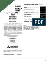 97-99 mitsubishi eclipse Electrical manual