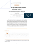 39130791 SIMONE DINIZ the Role of the Brazilian Congress in Foreign Policy