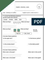 Examenes Bimestrales de Ingles[1]