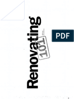 Part 3- Renovating 101