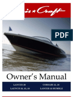 Chris Craft Launch Corsair Owners_Manual With Wiring