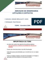 Minicurso Obras e Servicos de Engenharia
