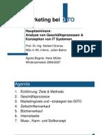 Präsentation - Marketing Bei GITO