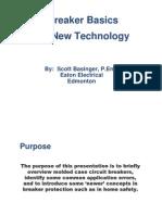 Breaker Basics and New Technology