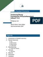 Präsentation - A New Scottish Economy