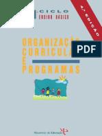programa 1º ciclo
