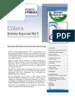 Boletin Especial Colera n5