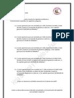 Hojas de Trabajo y Modelo de Examen 4ta Unidad