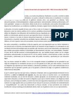 Declaración pública del Movimiento Universitario de Izquierda UCH