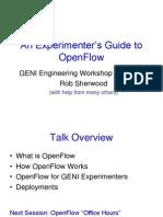 GENI Experimenters Workshop (1)