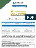 SBI+Gold+Fund