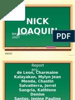 Nick Joaquin