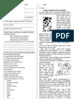ATIVIDADES DE PORTUGUES 5 ANOENSINO FUND