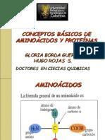 A.A y proteínas 2011