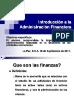 01 Introducción a las Finanzas
