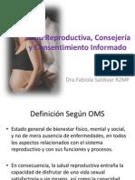 Salud Reproductiva, Consejería  y Consentimiento Informado