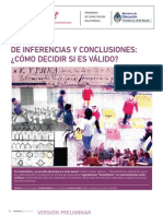 De Inferencias y Conclusiones