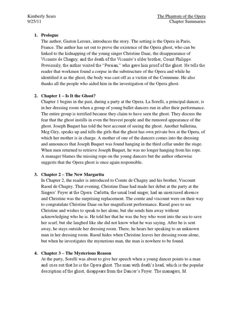 phantom of the opera chapter summaries erik the phantom of the phantom of the opera chapter summaries erik the phantom of the opera