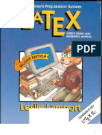 Latex - A Document Preparation System - Leslie Lamport