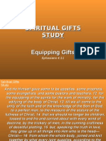 Equiping Gifts
