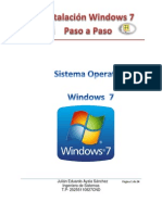 Instalacion Windows 7 Julian Ayala