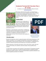 Seminario Nacional Del Cacao Fino y de Aroma