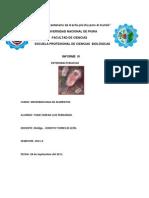 Microbiologia de Alimentos Informe 01 UNIVERSIDAD NACIONAL de PIURA