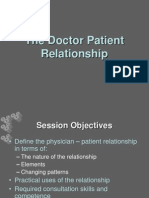 06 the Doctor Patient Relationship