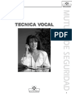 manual de canto - tecnica vocal