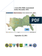 Southern Area Wildfire Risk - Fall 2011
