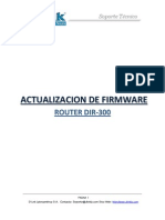 DIR-300 Actualizacion de Firmware