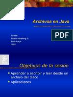 Clase Archivo Java