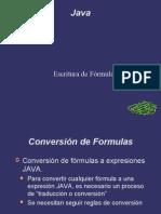 Taller Formulas en Java