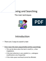 Lecture4- Indexing and Searching I