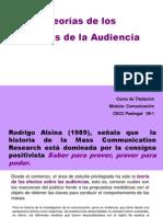 Teoría de los Efectos de la Audiencia