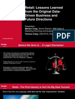 Retail_ Lessons Learned From the First Data-Driven Business and Future Directions Presentation 1