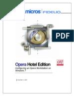 Opsera Configuration on Windows7 Client