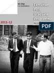 IIM B - One Year MBA( EPGP ) Introduction