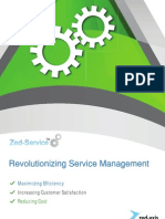 Zed Service Brochure